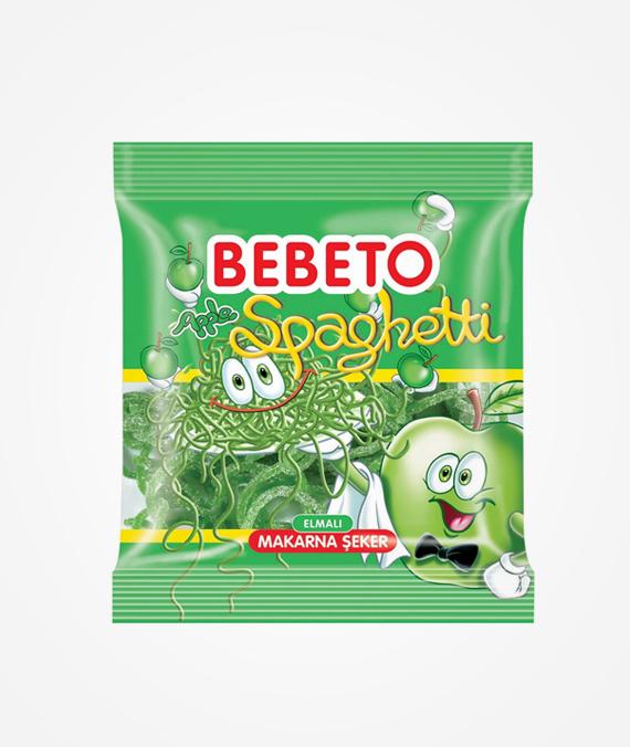 Bebeto Apple Spaghetti 80 gr