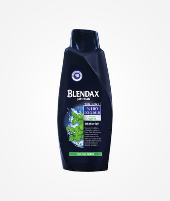 Blendax Men Menthol Shampoo 550 ml
