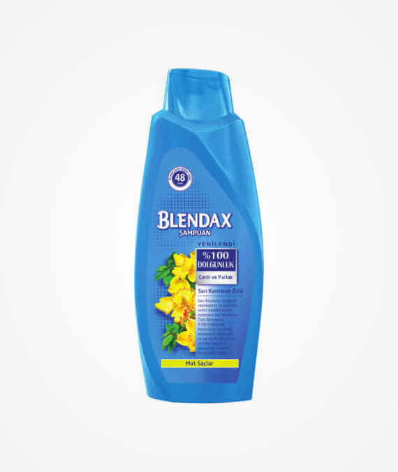 Blendax Yellow Centaury Extract Shampoo 550 ml