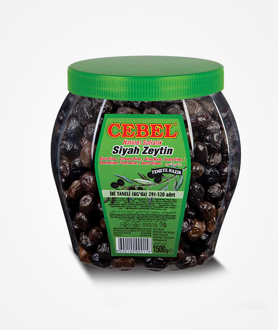 Cebel Black Olive 1500 gr