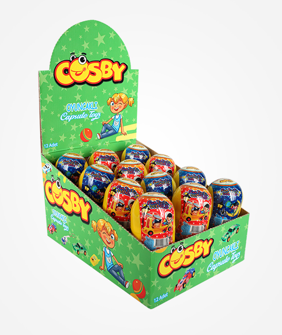Cosby Capsule Toys