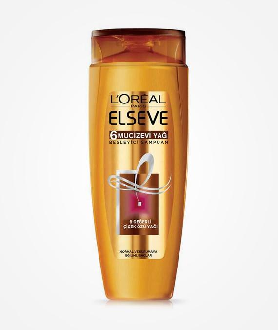 Loreal Paris Elseve 6 Oil Nourishing Shampoo 500 ml