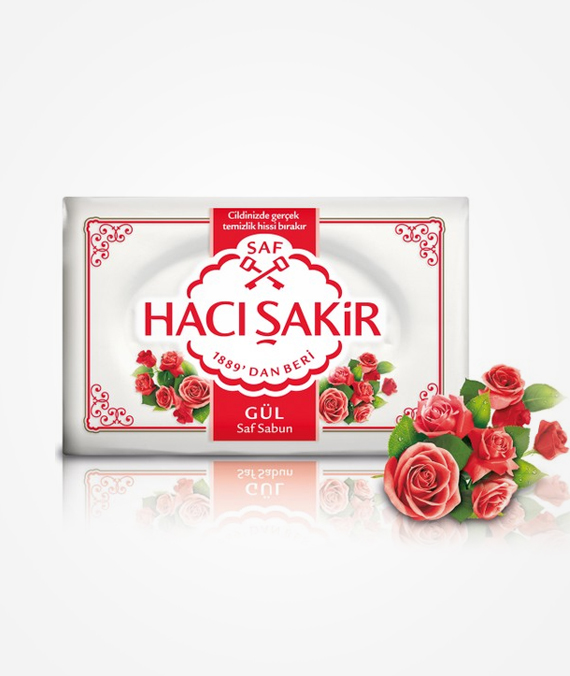 Hacı Şakir Bath Soap - Rose