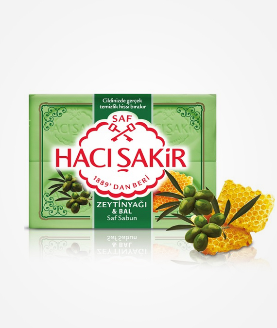Hacı Şakir Bath Soap - Olive Oil and Honey