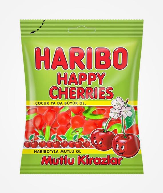 Haribo Happy Cherries 80 gr