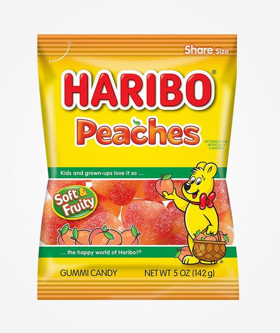 Haribo Peaches 100 gr