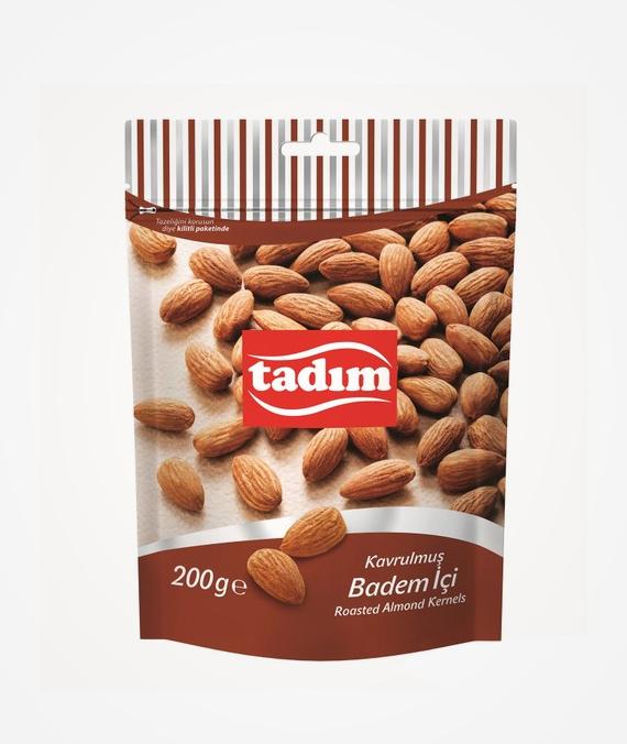Tadım Roasted and Salted Almond Kernels 200 gr