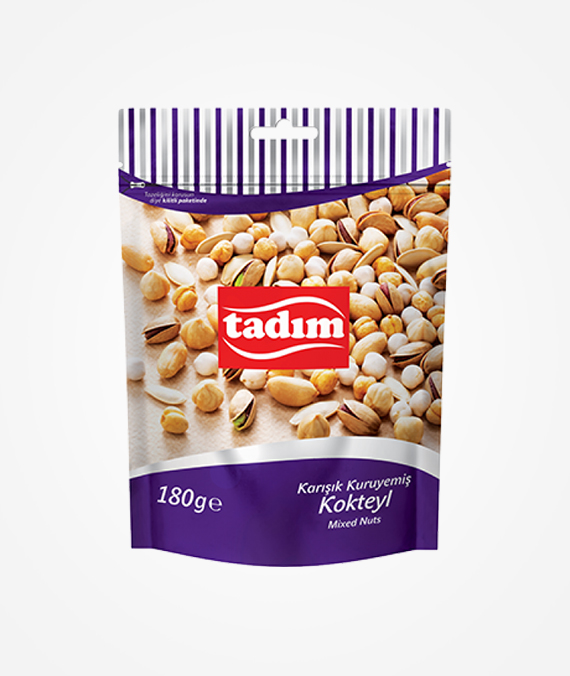 Tadım Roasted and Salted Mixed Nuts 200 gr