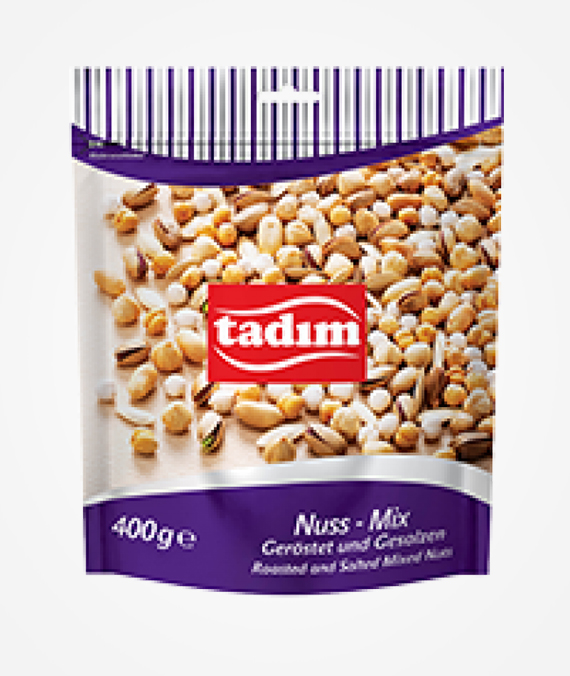 Tadım Roasted and Salted Mixed Nuts 400 gr