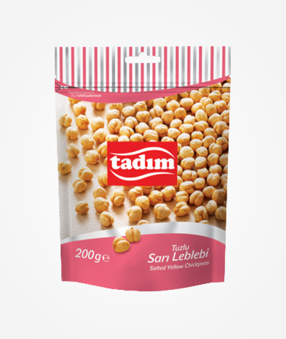 Tadım Roasted and Salted Yellow Chickpeas 200 gr