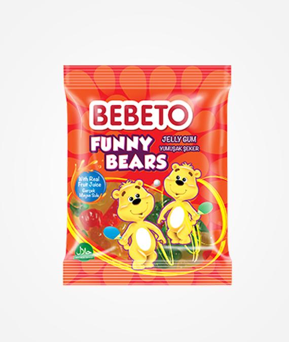 Bebeto Funny Bears Jelly Gum