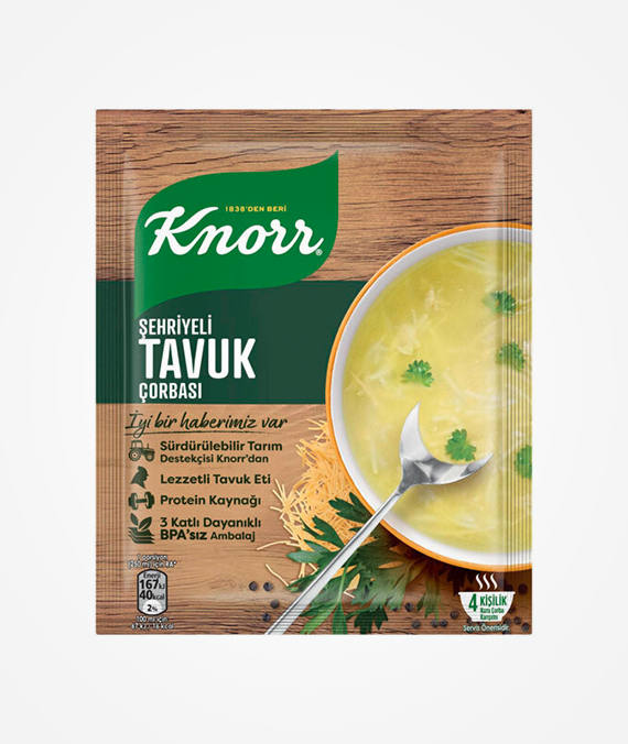 Knorr Chicken Soup with Noodle 54 gr