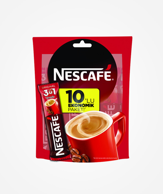 Nescafe 3 in 1 - Pack of 10