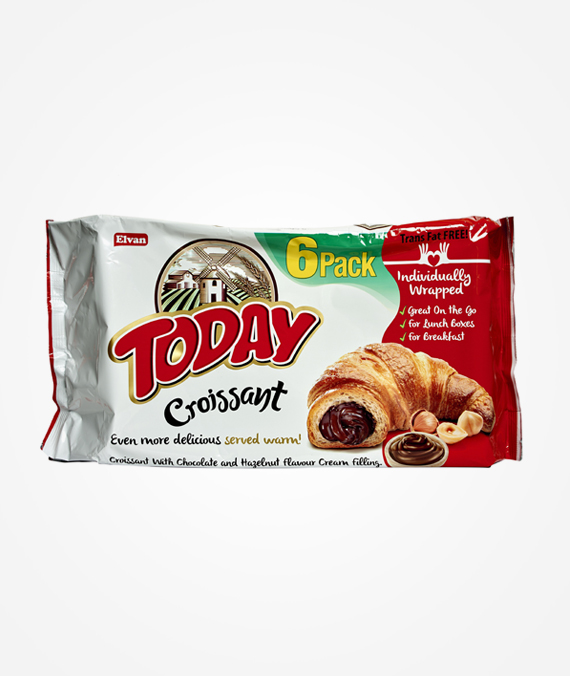 Today Chocolate & Hazelnut Cream Multipack Croissant