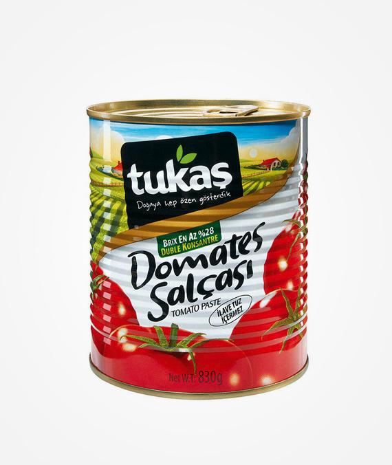 Tukaş Tomato Paste 830 gr